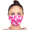 Stoffmaske Camouflage Pink Frontal